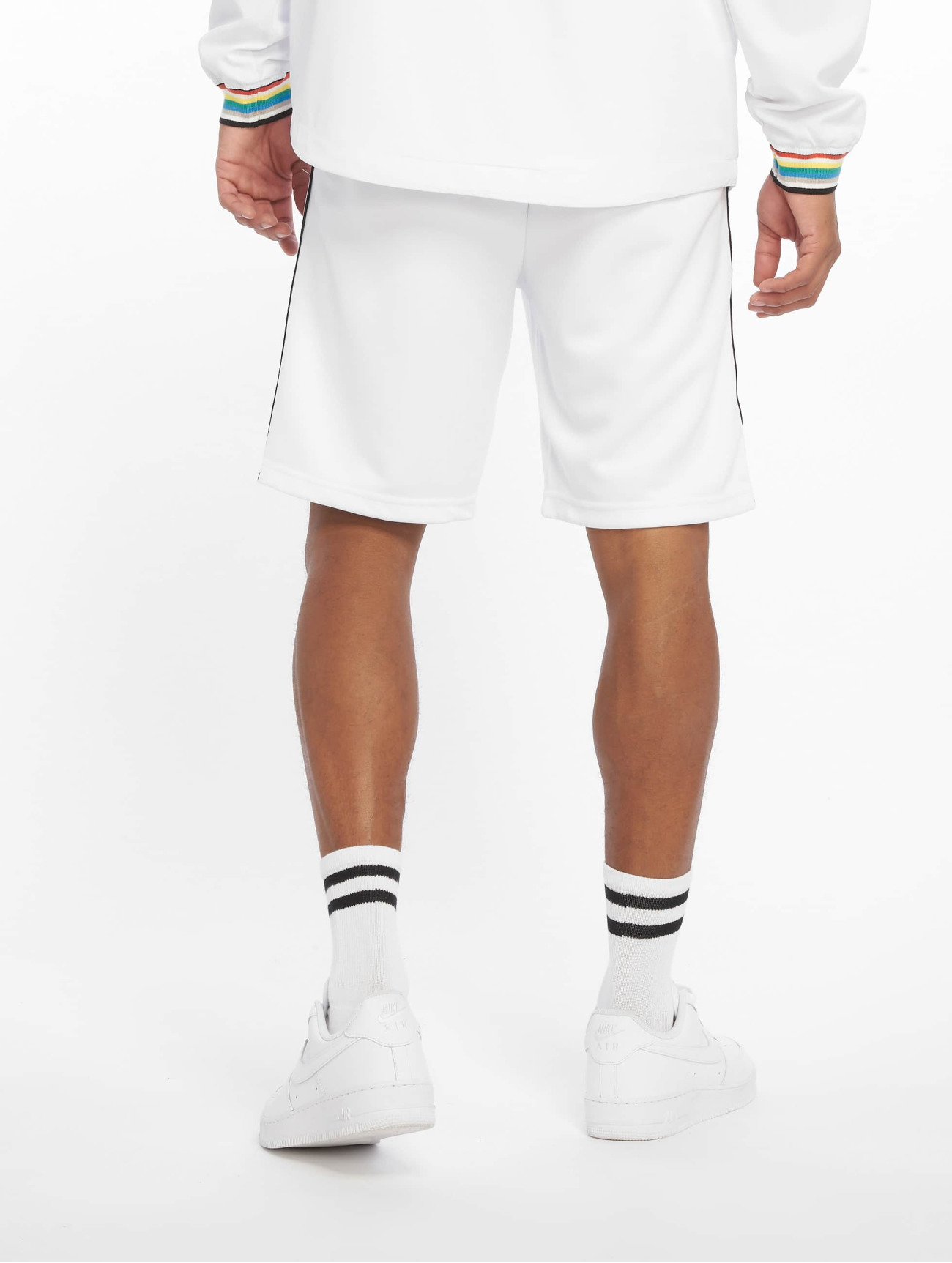Urban Classics  Side Taped  blanc Homme Short  636346 Homme Pantalons & Shorts