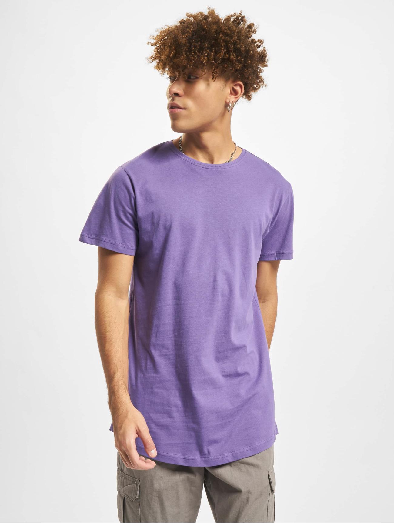 Urban Classics | Shaped Long  pourpre Homme T-Shirt  563287| Homme Hauts