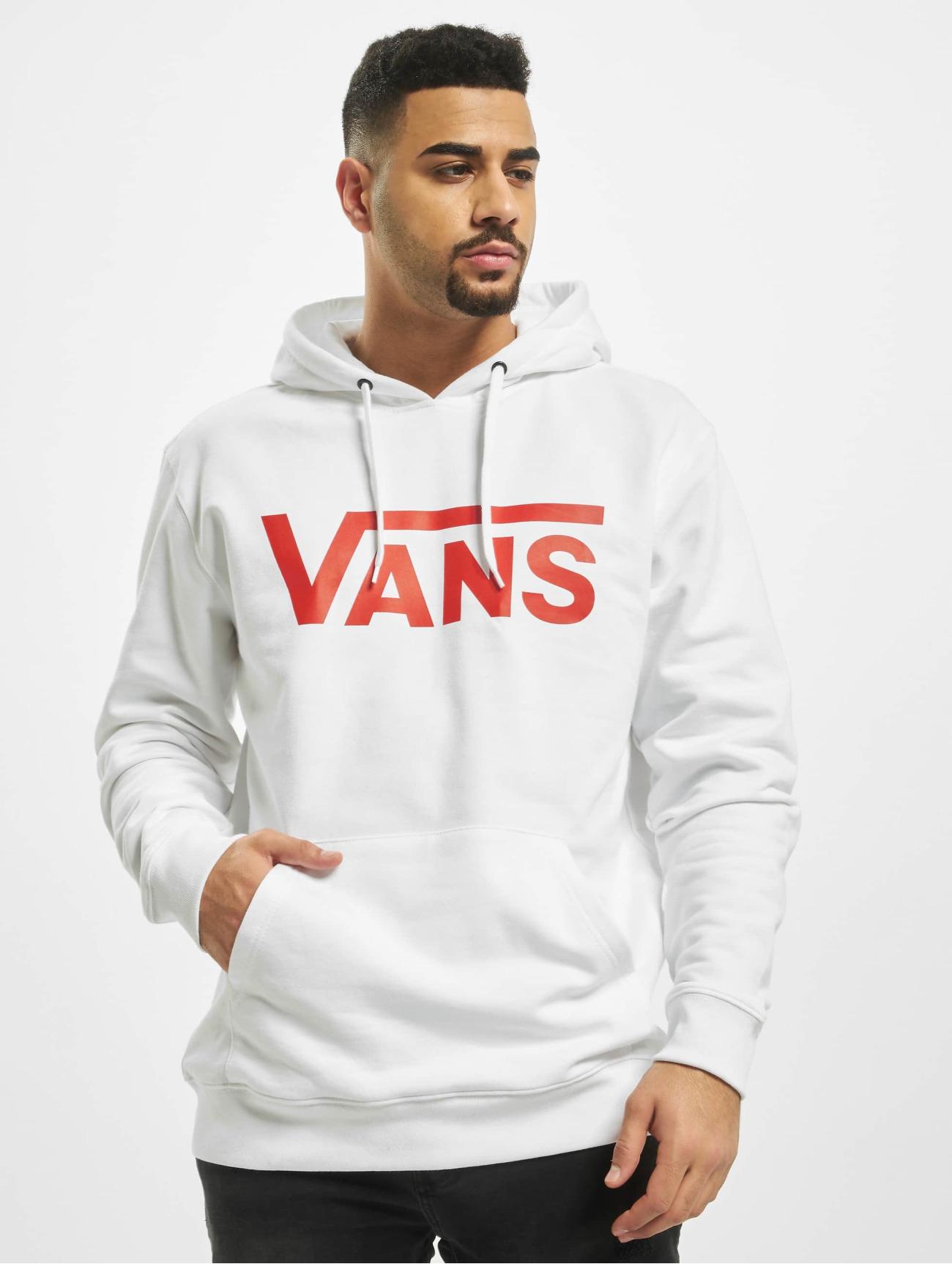 Vans Overwear / Hoodie Mn Classic in white 727535