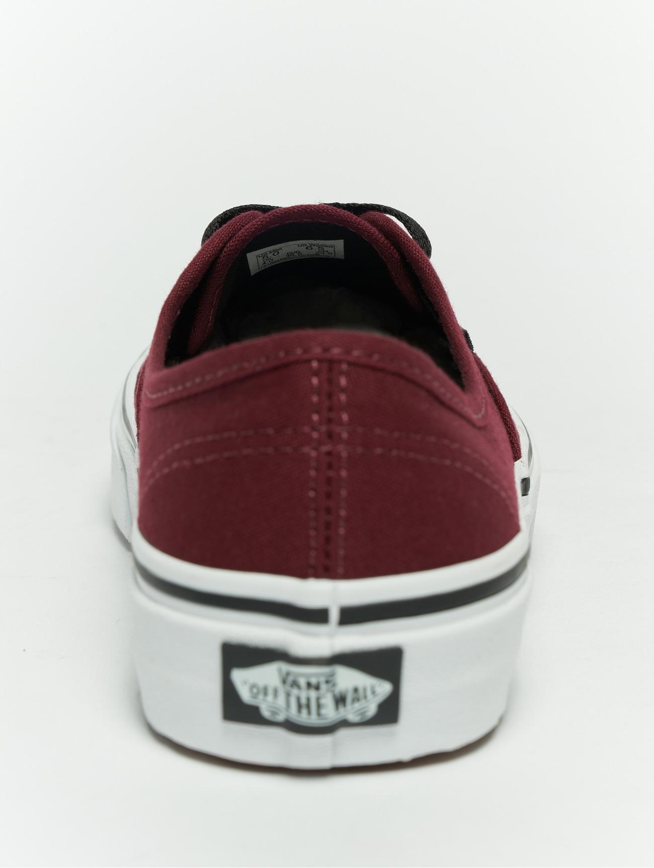 zapatos vans rojos