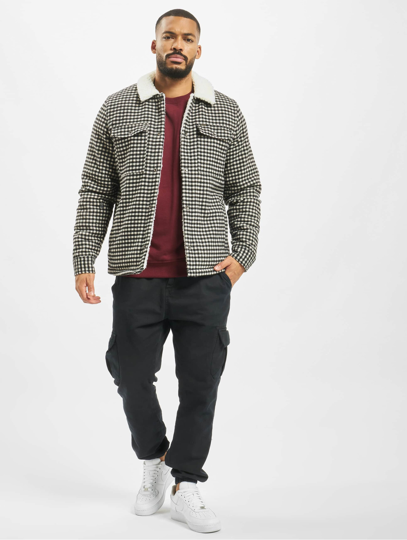 Volcom Jacket / Lightweight Jacket Keaton  in grey 699926