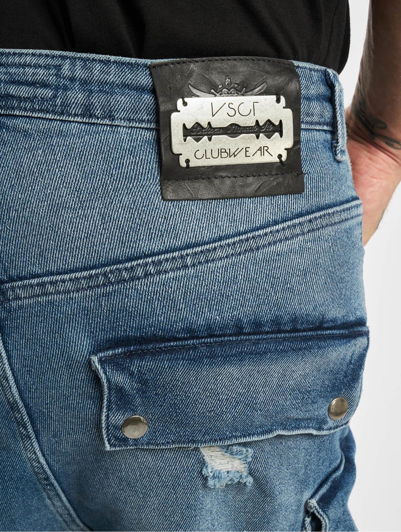 VSCT Clubwear  Cargo Spencer New Gen 2 Low  bleu Homme Jean slim  752636 Homme Jeans