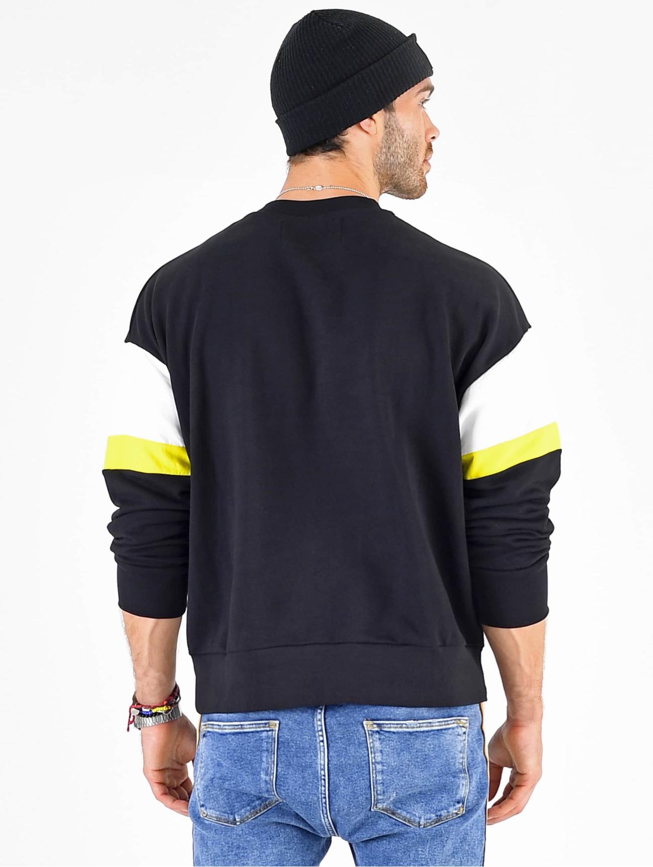VSCT Clubwear Herren Pullover Coach Retro Crew in blau 673453
