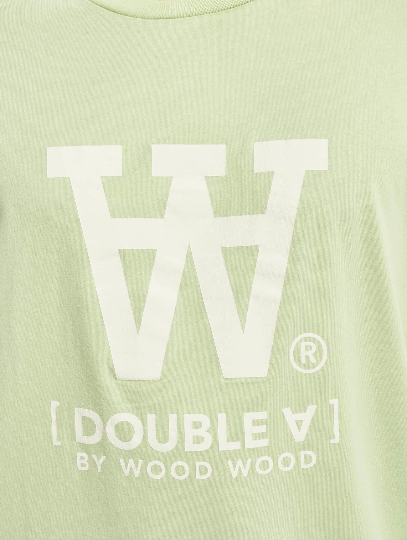Wood Wood Överdel / T-shirt Ace i grön 659659 Män Överdelar