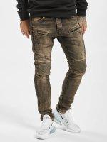 2Y Облегающие джинсы Quilted коричневый