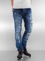 2Y Skinny jeans Destroyed blå