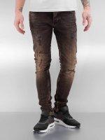 2Y Skinny Jeans Used brown