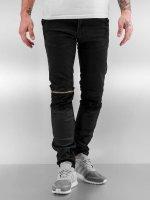 2Y Skinny Jeans Biff schwarz