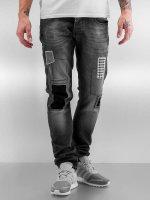 2Y Slim Fit Jeans Latan šedá