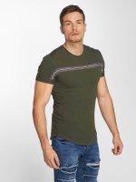 Aarhon Camiseta Streak caqui