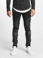 Aarhon Jeans ajustado Italio negro