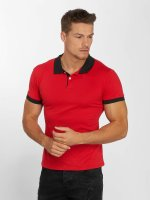 Aarhon Polo Basic rouge