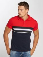 Aarhon poloshirt Two Colours rood
