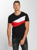Aarhon T-Shirt Stripes black