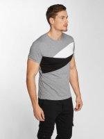 Aarhon t-shirt Stripes grijs