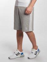 adidas originals Šortky 3-Stripes šedá