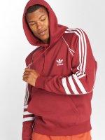 adidas originals Bluzy z kapturem Auth czerwony