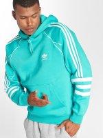 adidas originals Bluzy z kapturem Auth Hoody niebieski