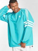 adidas originals Giacca Mezza Stagione Auth Wvn Tunic blu