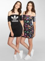 adidas originals jurk No Shoulder zwart