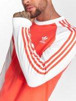 adidas originals Longsleeves Originals 3-Stripes Ls T czerwony