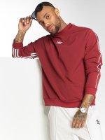adidas originals Svetry Originals Auth Stripe Cre červený