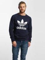 adidas originals Svetry Trefoil modrý