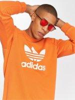 adidas originals Svetry Trefoil Crew oranžový