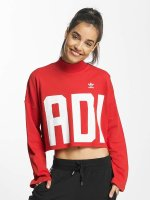 adidas originals Sweat & Pull Croppped High Neck rouge