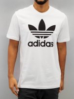 adidas originals T-paidat Originals Trefoil valkoinen