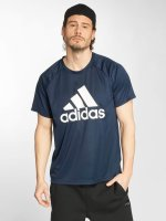 adidas originals T-Shirt D2M blau