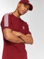 adidas originals T-shirt 3-Stripes Tee rosso
