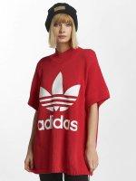 adidas originals T-Shirt Big Trefoil rouge