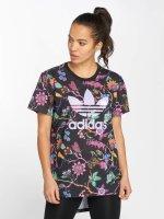 adidas originals T-Shirt Longline schwarz