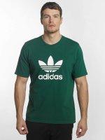 adidas originals T-Shirt Trefoil vert