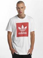 adidas originals T-Shirt Solid Blackbird weiß