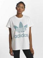 adidas originals t-shirt Big Trefoil wit