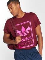 adidas originals T-Shirty Vintage czerwony