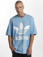 adidas originals T-Shirty Oversized niebieski