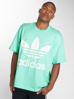 adidas originals T-Shirty Oversized zielony