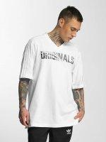 adidas originals T-skjorter LA hvit