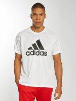 adidas originals T-skjorter D2M Logo hvit