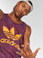 adidas originals Tank Tops Trefoil пурпурный