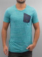 Alife & Kickin T-Shirty Vin A turkusowy