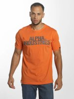 Alpha Industries Camiseta Blurred naranja
