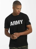 Alpha Industries Camiseta Army negro