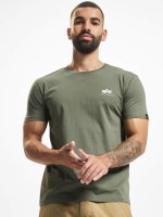 Alpha Industries Camiseta Basic Small Logo oliva