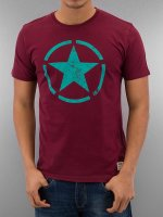 Alpha Industries Camiseta Star rojo