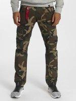 Alpha Industries Cargobroek Agent C camouflage