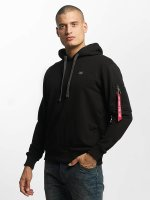 Alpha Industries Hoody X-Fit zwart